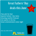 Treat Dad this fathers' Day 2015