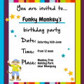 Funky Monkey's birthday party 2018