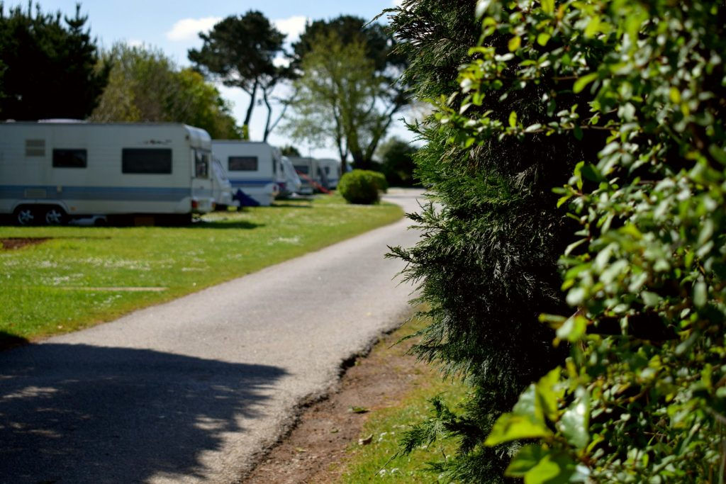 camping at Monkey Tree Holiday Park
