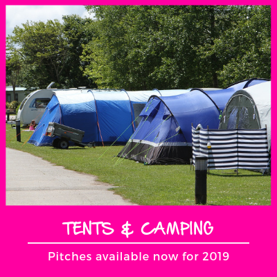 Tents and camping pitches Cornwall 2019
