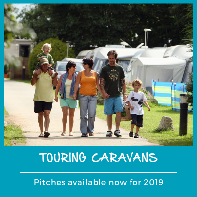 Touring caravans 2019 pitches