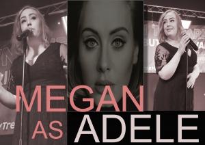 Adele tribute act Megan