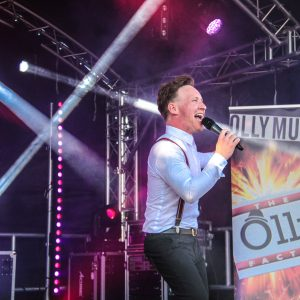 Olly Murs tribute act at Monkey Tree Holiday Park Newquay