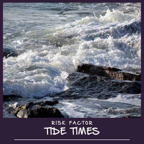 RNLI risk factor high tides