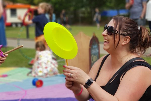 Party in the Park Tribute Festival 2019 circus skills